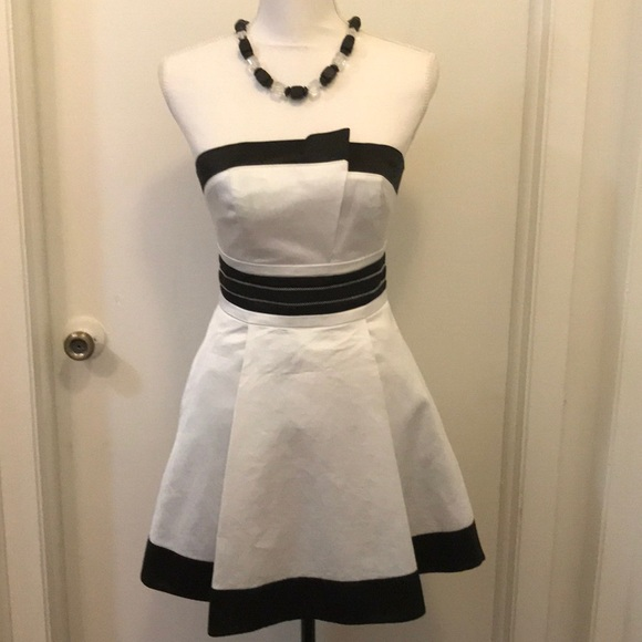 Bebe Dresses Cute And Modern Black White Cocktail Dress Poshmark
